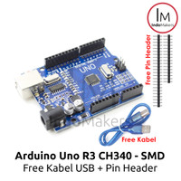 Arduino Uno R3 CH340 ATmega328 Type SMD