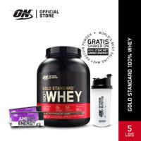 Optimum Nutrition 100% Gold Standard Whey 5Lbs Double Rich Choco