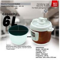 Infinito Electric Pressure Cooker Full Presto Classic Series