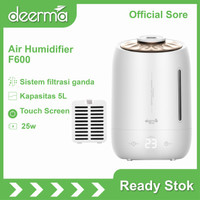 Deerma F600 5L Humidifier Timing With Intelligent Touch Screen