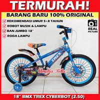 Sepeda Anak BMX 18 Inch TREX Ban Jumbo Besar