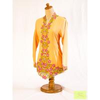 Kebaya Modern Katun Mitra Tama Kebaya & Samping Warna Kuning