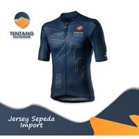 Jersey Sepeda Import CASTELLI T053 XC Roadbike Kaos Sepeda Baju Gowes - S