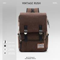 Ransel Pria Key Bag Vintage Rush - Cokelat