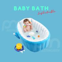 Intime Baby Bath Tub / Bak Mandi Bayi (BONUS: POMPA) - BIRU