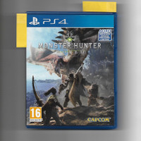 Monster Hunter World - Kaset PS BD game PlayStation PS4 second
