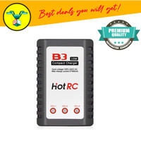Hot RC Charger Balance Battery Lithium LiPo B3 Compact for 2S 3S 7.4V