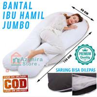 Jumbo Premium Bantal Ibu Hamil Guling Bumil