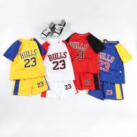 Baju Setelan Kaos Olahraga Basket Anak Bayi Balita Laki Laki CA2102