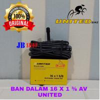 BAN DALAM SEPEDA 16 X 1 3/8 349 AV SCHRADER 16X1 3/8