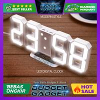 Jam Meja LED Digital Clock Modern Style Minimalist