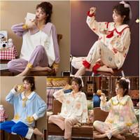 baju tidur setelan piyama wanita dewasa pp fashion renda 19862016