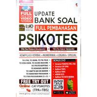 BUKU PSIKOTES | UPDATE BANK SOAL FULL PEMBAHASAN PSIKOTES TPA+TBS +DVD
