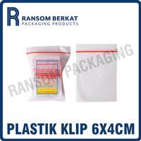 Plastik Klip Polos 6x4 cm (KLPPLS64)