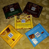 Paket coklat Jerman Ritter Sport mix 5 rasa 5x100g