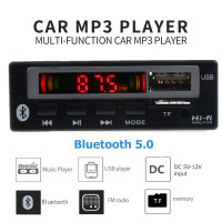 Tape Audio Mobil MP3 Player Bluetooth Wireless Receiver 12V - JSD-565