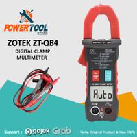 Zotek ZT-QB4 Smart Clamp Meter With Capacitance Temparature Suhu AC DC