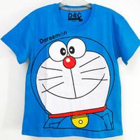 Sale Kaos baju anak laki laki size 1 tahun murah #7706 - doraemon biru