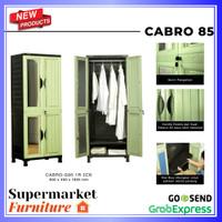 LEMARI PLASTIK GANTUNG NAPOLLY CABRO G85 / GANTUNG + RAK NAPOLLY G85