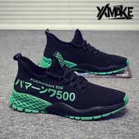 XXMAKE XXSH103 Men Sneakers Sepatu Pria Terbaru Premium Quality - COD - Black, 41