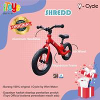 Sepeda Balance Bike (Push Bike) i-Cycle PH-1902 (SHREDD)