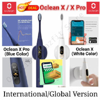 Oclean X / X Pro - Smart Sonic / Electric Toothbrush with Touch Screen - Blue (X PRO)