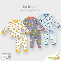 Piyama anak Velvet Junior big size 3 usia 2 - 3 tahun baju tidur