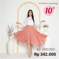 Alena Circle Juwita Skirt - Pink Peach