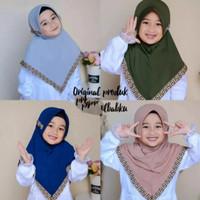 hijab anak motif fendy / 3-5 tahun - kerudung anak perempuan - jilbab