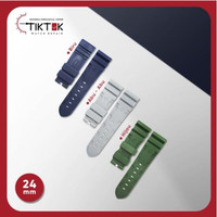 Panerai Rubber Strap / Tali Jam Tangan Karet Panerai 24 mm