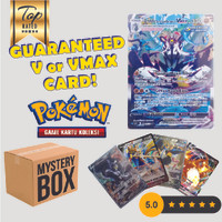 Mystery Box Kartu Koleksi Pokemon Indonesia - GUARANTEED GX V V-MAX