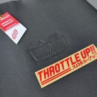 Kulit Jok Motor Racing Throttle Up Not MB Tech Vario Supra Jupiter MX