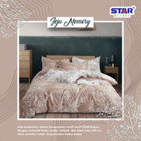 sprei set bedcover bahan Star 160x200 - 200x200 Motif Jeju Memory