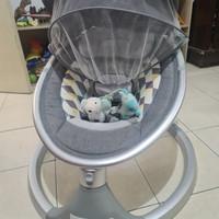Violi Auto Swing Dream Ayunan Bayi Elektrik