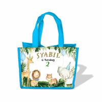 tas goodie bag karakter ulang tahun anak Custom - Nasi kotak