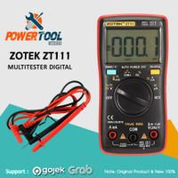 ZOTEK MULTIMETER / AVOMETER DIGITAL / MULTITESTER DIGITAL (ZT111)