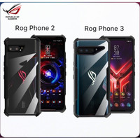 Murah Case for ASUS ROG Phone 3 2 5 Armour Case TPU Frame with Clear P