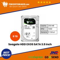 Seagate EXOS 7E8 HDD / Hardisk Enterprise 8TB SATA 7200RPM