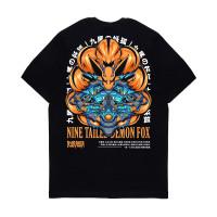 Kaos Pria Kizaru T-Shirt Anime Naruto KURAMA