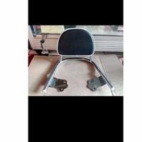 Back Rack mini/Back Rack Plus bantalan/aksesoris motor Scoopy-crome