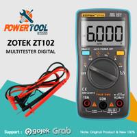 ZOTEK MULTIMETER / AVOMETER DIGITAL / MULTITESTER DIGITAL (ZT102)