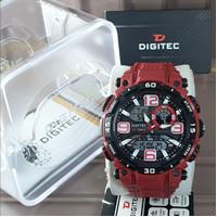 Digitec DG-2030 - Jam Tangan Digitec 2030 - DG2030 DG-2030 Red Black