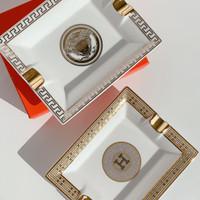 Luxury H Ashtray / Asbak Mewah / Pajangan Rumah / Home Decor