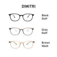 SkhopeCultture Dimitri G70-19 Kacamata Minus Pria Wanita Gratis Lensa