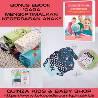 Pakaian Bayi, Baby Romper Segitiga Redkite Lengan panjang Set 5pcs/box - 0-3 Bulan