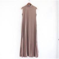 Gamis Plisket/ Long Dress Plisket Gamis/ Gamis plisket