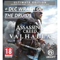 Assassins Creed Valhalla - Ultimate Edition PC ORIGINAL