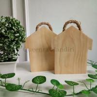 Talenan Kayu Karakter Unik Wooden Cutting Board -Queenra Mandiri-