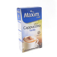 Kopi MAXIM CAFE CAPPUCCINO VANILLA isi 10 Sachets