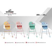SpaceBaby SB 918 Baby Booster & High Chair Kursi Makan Bayi Sapce Baby